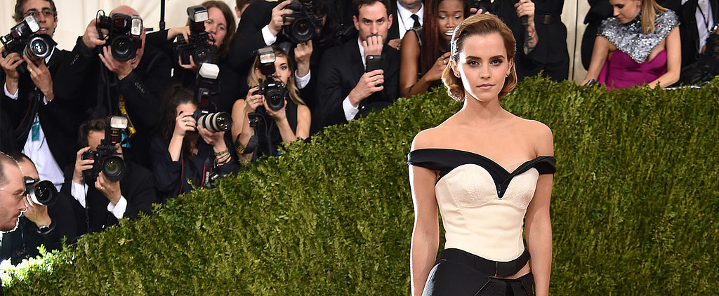 Emma Watson's Met Gala Appearance Proves She's Actually Magical in Real Life