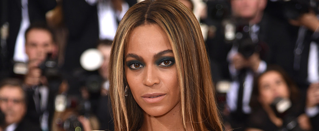 Beyoncé Surprises Us at the Met Gala With a Dramatically Bold Eye