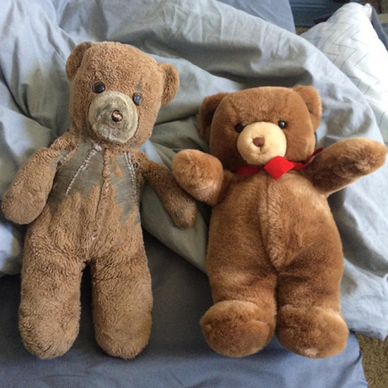 Mom's Gift of Two Identical Teddy Bears