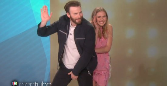 Chris Evans Is A Force To Be Reckoned With On The Dance Floor