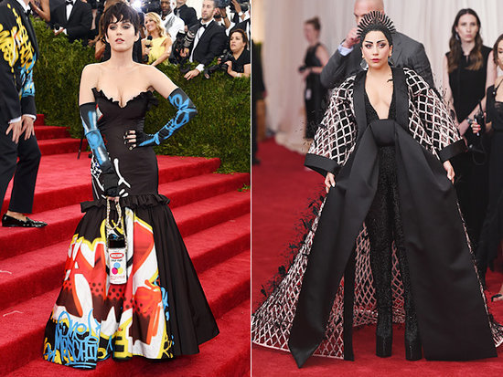 "Katy Perry Feels Pressure Dressing for the Met Gala: 'I'm Sure Lady Gaga Is Going to Arrive on a Drone, and I'll Be Like, ""S---!"