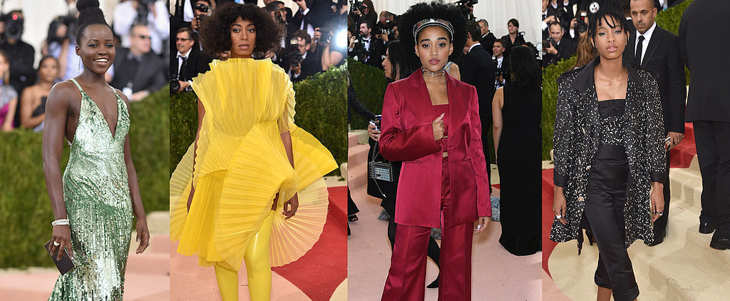 Stars Embrace Natural Hair — and Look Oh So Elegant — at the Met Gala