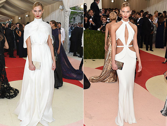 Karlie Kloss Has Her Met Gala Gown Cut Right Off Her to Make an Afterparty Dress