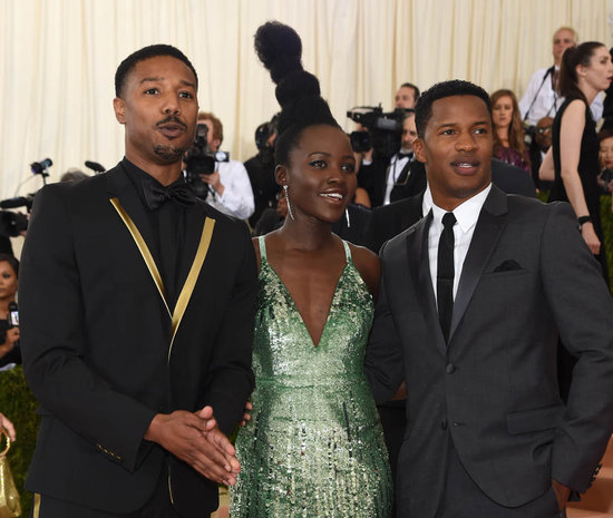 Michael B Jordan's short pants at the 2016 MET Gala