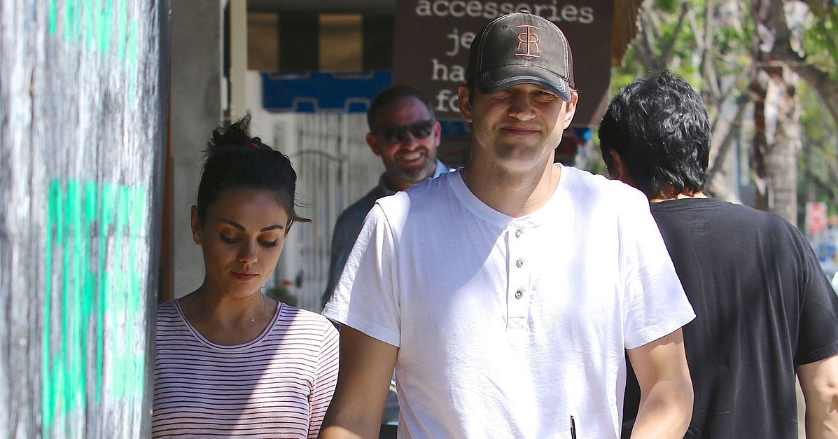 Mila Kunis and Ashton Kutcher Out in LA May 2016 ... Mila Kunis Ashton Kutcher