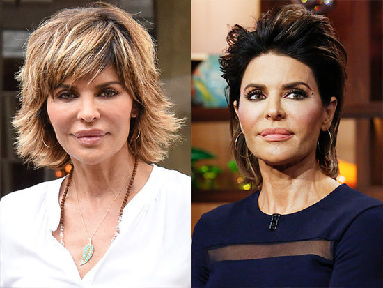 Lisa Rinna Changes Her Hairdo for the First Time in 20 Years Using Drugstore Dye