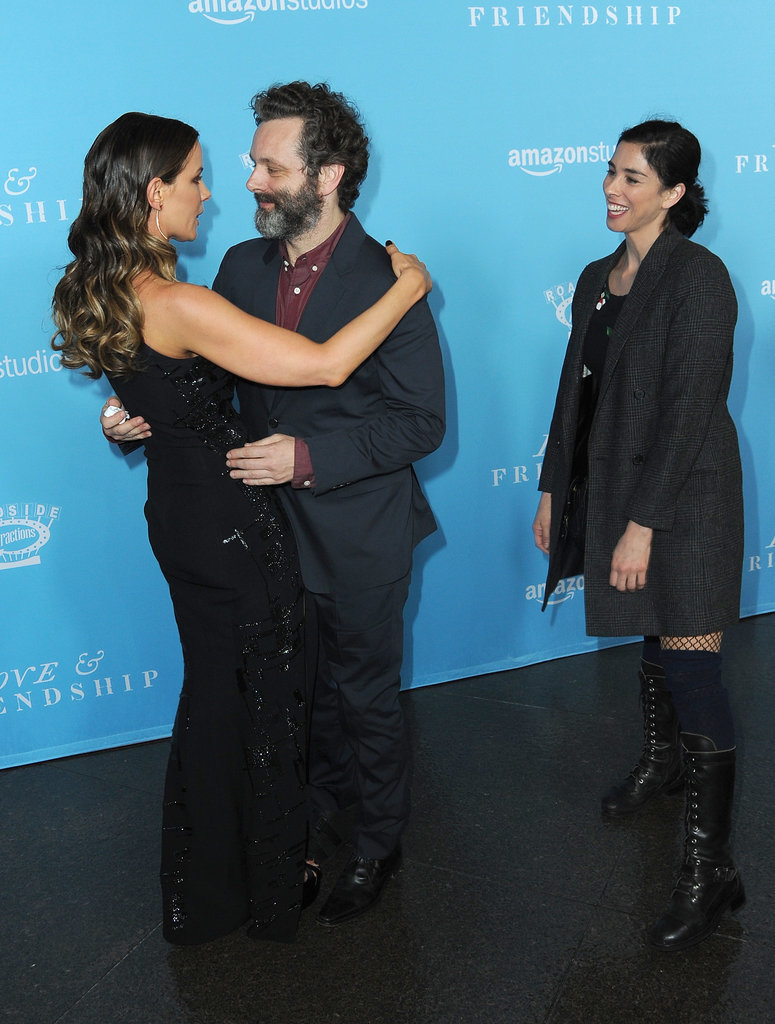 Kate Beckinsale With Michael Sheen and Sarah Silverman ...