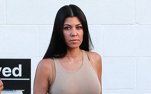 Kourtney Kardashian Forgoes a Bikini and Sparks Pregnancy Rumors