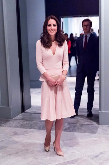Princess Catherine visits National Portrait Gallery to view VOGUE portraits to end busy day of official events