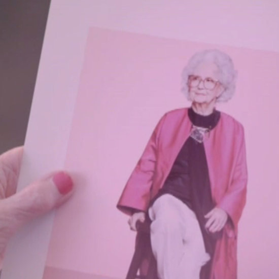 100 Year-Old Woman Models For Vogue
