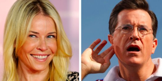 Chelsea Handler Slams Stephen Colbert For Not Being Himself