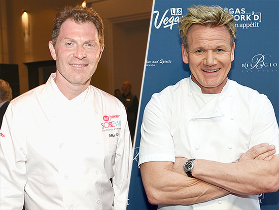 Gordon Ramsay Challenges Bobby Flay to a Culinary Throwdown: 'I Can't Wait to Beat His Ass'