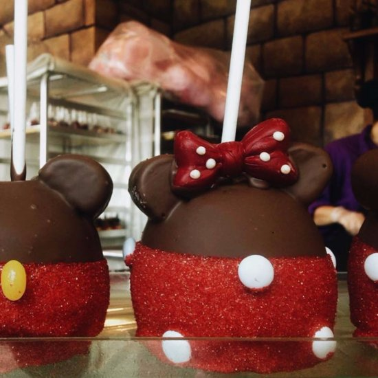 Disney World Mickey Mouse Apple Recipe