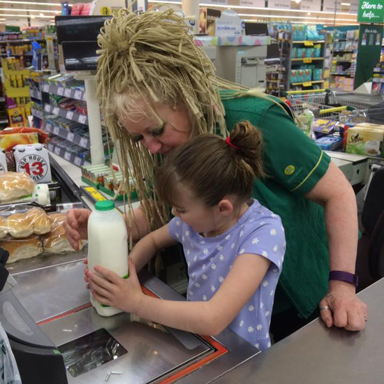 Cashier Lets Blind Girl With Autism Scan Groceries