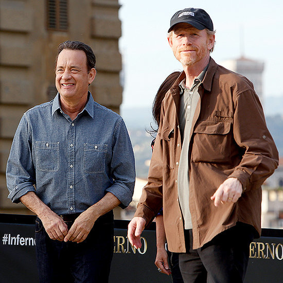 Ron Howard Talks New Dan Brown Film Inferno - and Reveals that Tom Hanks Is the Master of the Poker Face