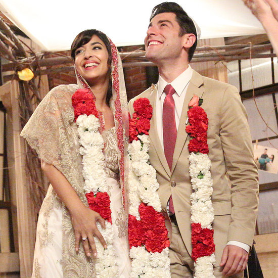 New Girl Schmidt and Cece's Wedding Pictures