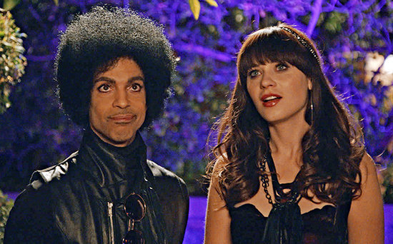 FROM EW: Prince Vetoed a Kardashian Cameo on New Girl Super Bowl Episode