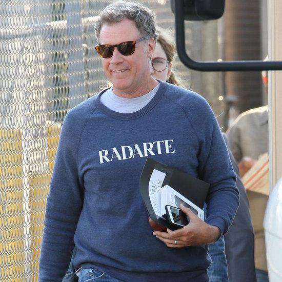 Will Ferrell in Rodarte Sweatshirt