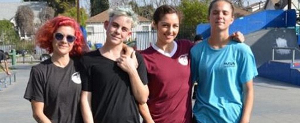 "Meet the Badass Band of Women Shattering Skateboarding's ""Boys' Club"""