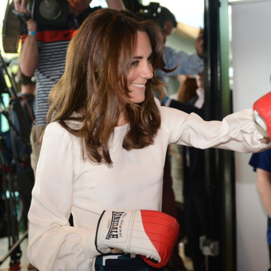 Kate Middleton Boxing in London May 2016