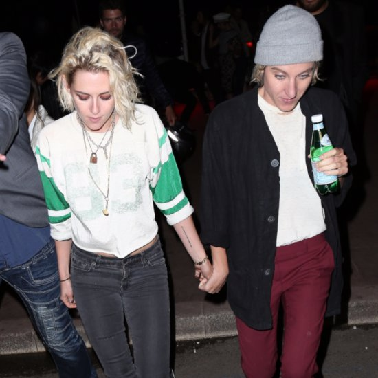 Kristen Stewart and Alicia Cargile Hold Hands in Cannes 2016