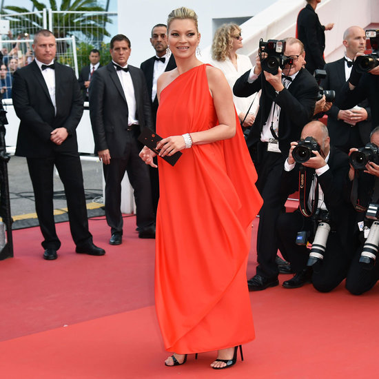 Kate Moss's Red Dress at Cannes 2016