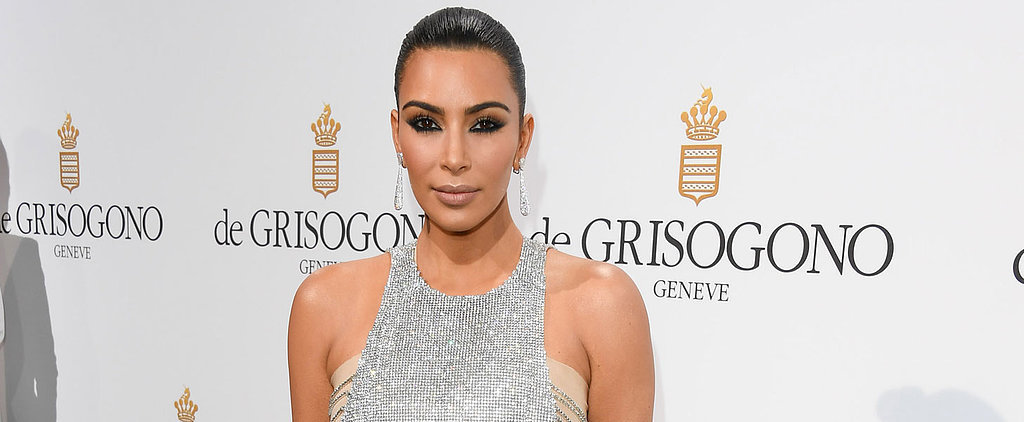 Kim Kardashian's Latest Cannes Look Comes With a Pretty Genius Styling Hack