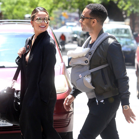 John Legend and Chrissy Teigen Out With Baby Luna May 2016