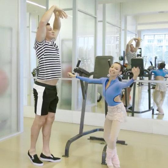 Rob Gronkowski Doing Ballet