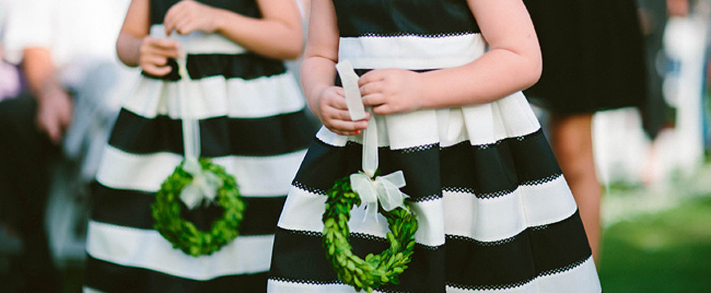 35 Colorful Flower Girl Dress Ideas That Aren't White