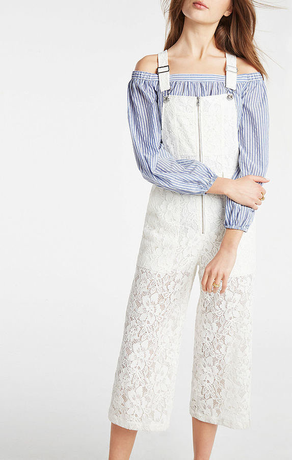 BCBGMAXAZRIA Jamee Floral Lace Overall ($298)