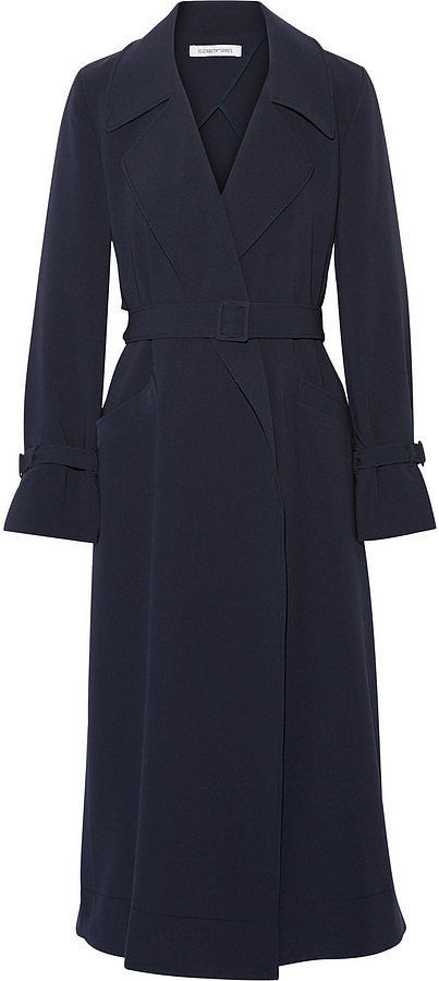 Elizabeth and James Bailey Crepe Trench Coat ($625)