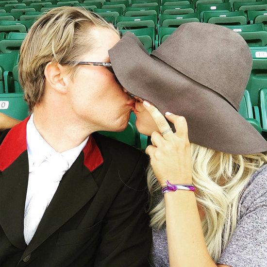 Kaley Cuoco and Boyfriend Karl Cook Smooch in New PDA Photo