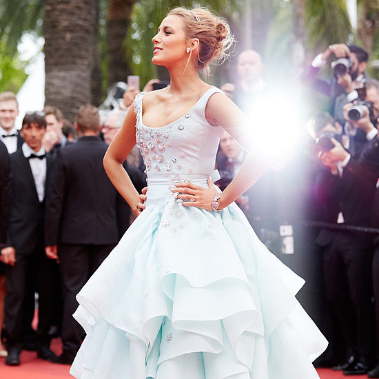 Blake Lively Disney Princess Dresses at Cannes 2016