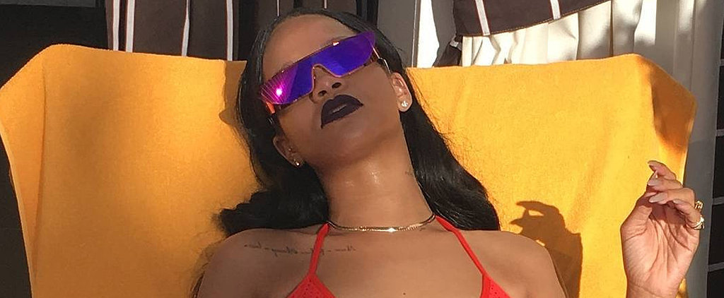 POPSUGAR Shout Out: Rihanna's Basic Red Bikini Is a Must Have For Summer