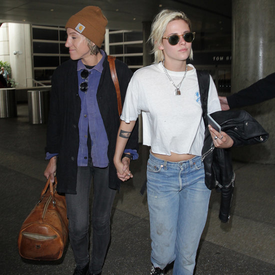 Kristen Stewart and Alicia Cargile Hold Hands in LA May 2016
