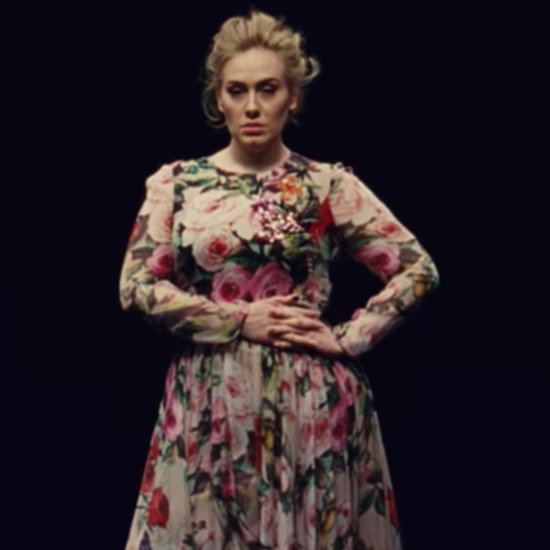 "Adele's Dolce & Gabbana Gown in ""Send My Love"" Video"
