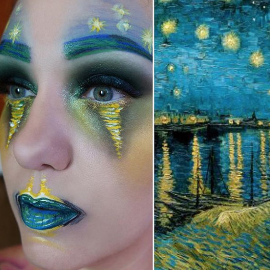 Woman Transforms Her Face Into Famous Paintings