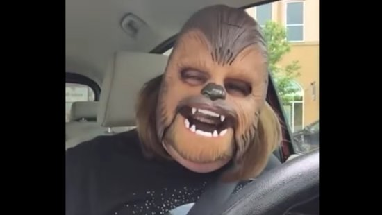 The Adorable Mom Who Went Viral Over A Chewbacca Mask, Just Got A Surprise Visit From Kohl's