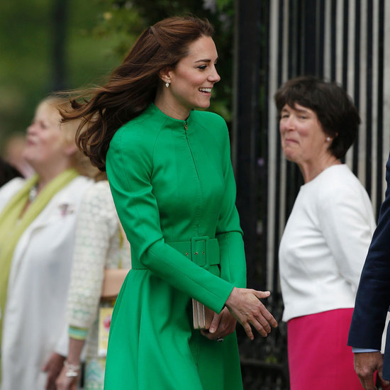 Duchess Cambridge's Green Dress at the Chelsea Flower Show