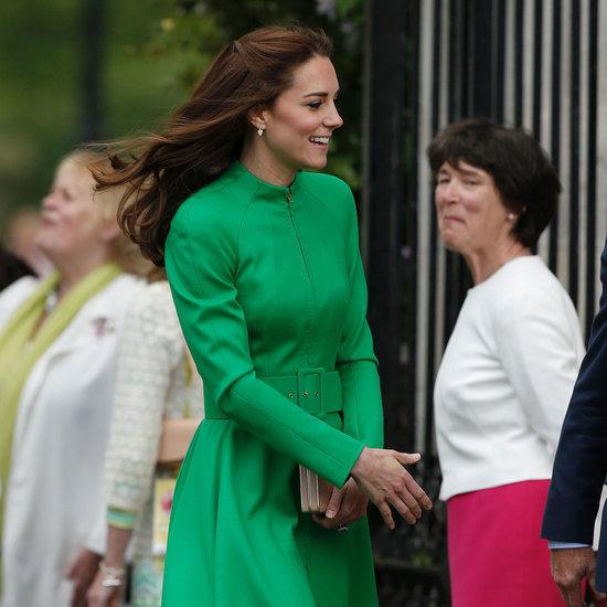 Duchess Cambridge's Green Dress at the Chelsea Flower Show