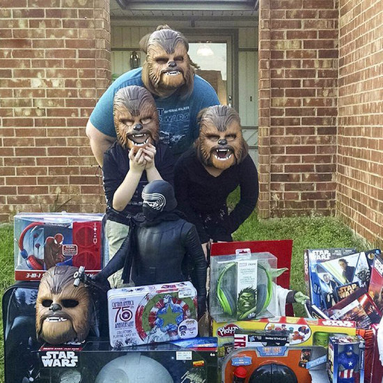 Woman Who Tried On Chewbacca Mask Gets Gifts From Kohl's