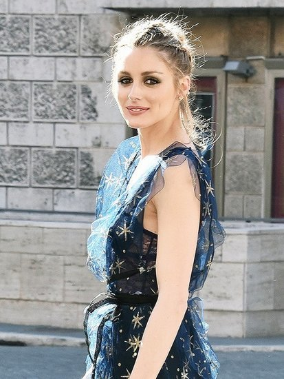 Olivia Palermo Made a Sheer Dress Look So Elegant