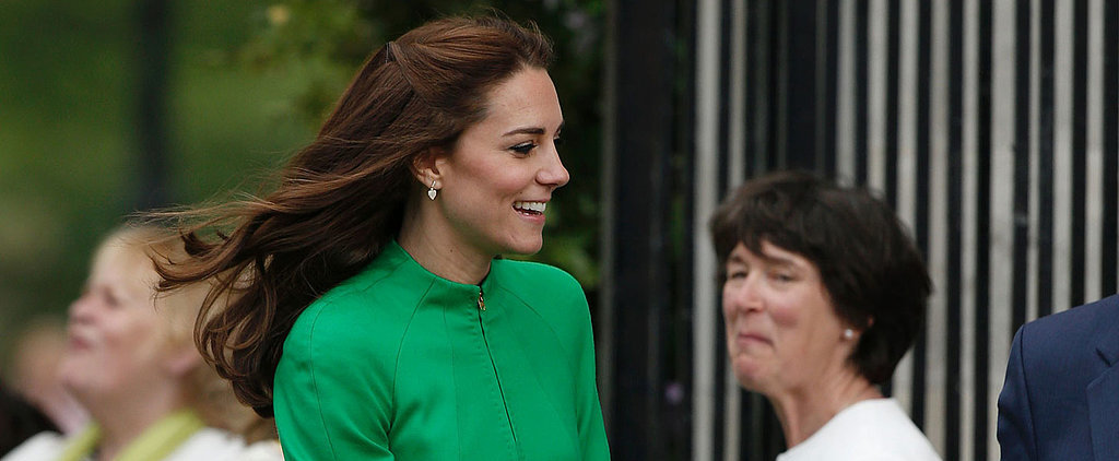 Kate Middleton and Prince William Stop and Smell the Roses at the Chelsea Flower Show