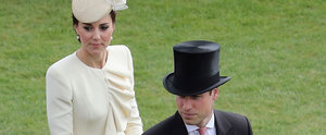 Kate Middleton and Prince William Steal Cute Looks Behind the Queen's Back During a Garden Party