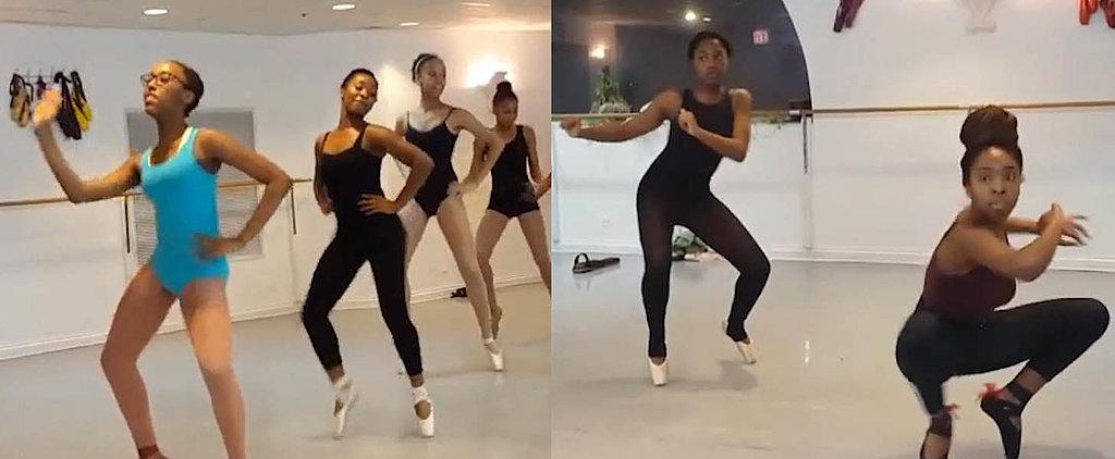 Ballerinas Combine Hip-Hop and Ballet in New Dance Style