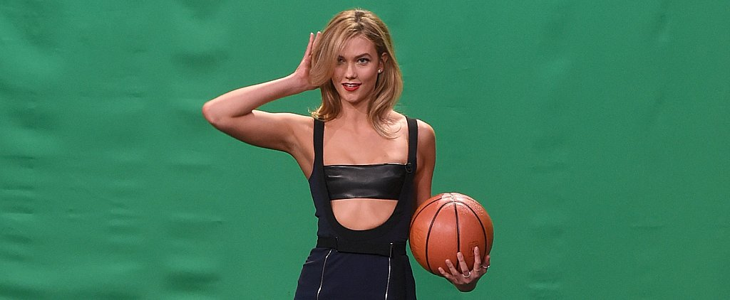 Karlie Kloss Shows Jimmy Fallon How to Pose — but Can He Do It in a Dress?