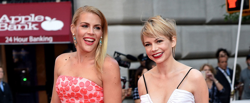 Michelle Williams and Busy Philipps Have a Dawson's Creek Reunion at the Tonys