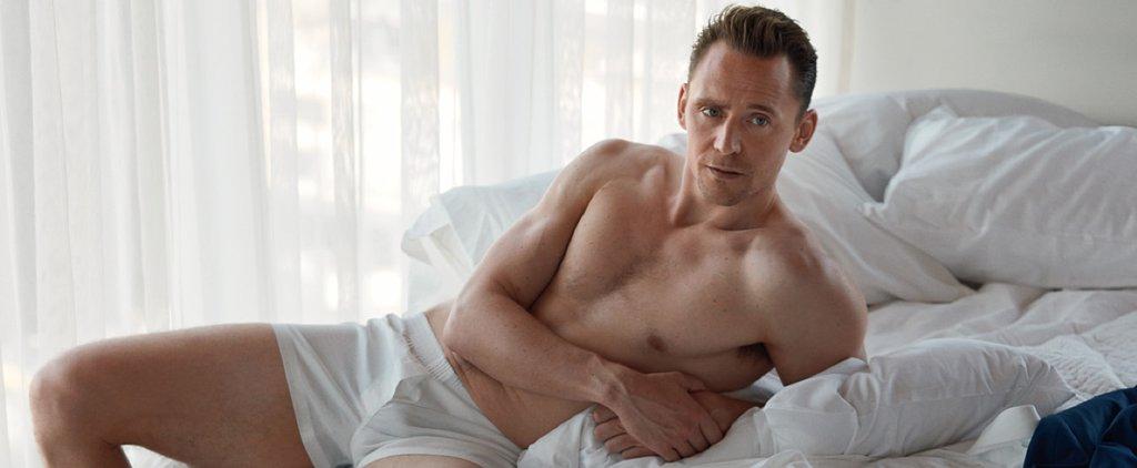 Tom Hiddleston Poses in His Underwear For His Sexy W Magazine Spread