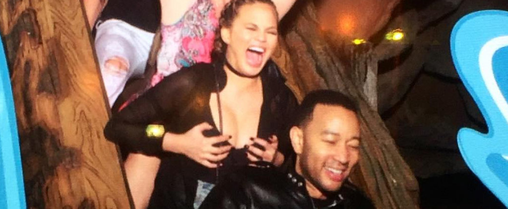 Chrissy Teigen's Latest Lactating Photo Might Be Her Funniest Yet